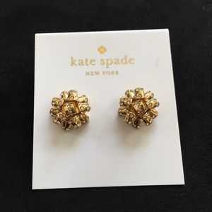 Kate Spade bourgeois bow earrings